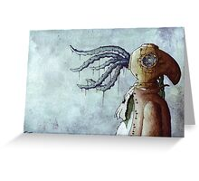Octopus Man Greeting Card