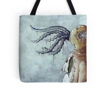 Octopus Man Tote Bag