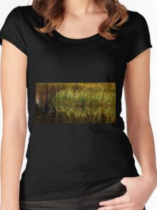 """""""Blowing In The Wind"""" Women's Fitted Scoop T-Shirt"""