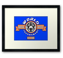 The World Tournament Original Framed Print