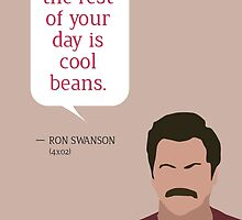 Ron Swanson Greeting Card by mmaccioli