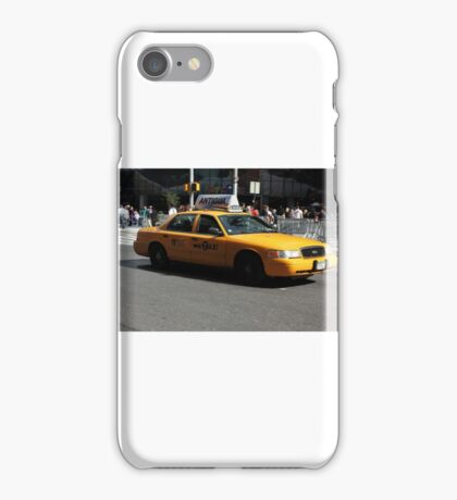 New York Yellow Taxi Cab iPhone Case/Skin