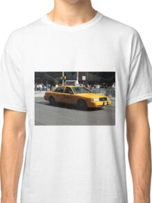 New York Yellow Taxi Cab Classic T-Shirt
