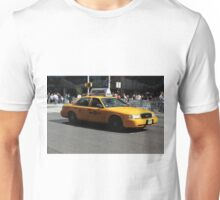 New York Yellow Taxi Cab Unisex T-Shirt
