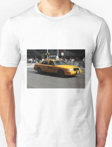 New York Yellow Taxi Cab T-Shirt