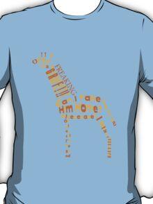 OMG A GIRAFFE! T-Shirt