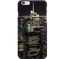Night Time View of New York City iPhone Case/Skin