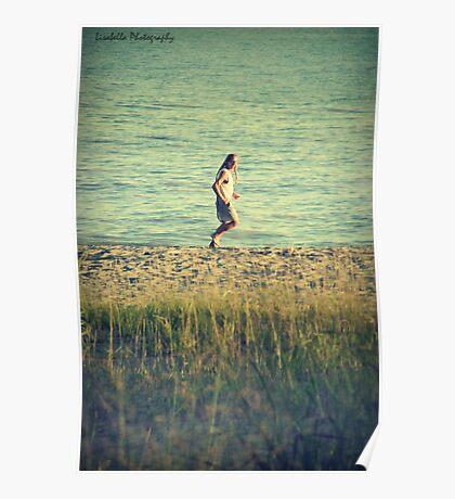 The Running Man Poster