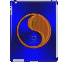 Gemini & Ox Yin Wood iPad Case/Skin