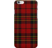 red Tartan Plaid iPhone Case/Skin