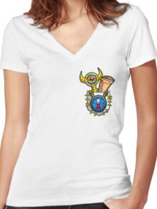 A Hero's Tools Women's Fitted V-Neck T-Shirt