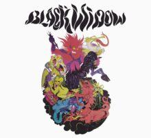 Black Widow Band Shirt by comastar