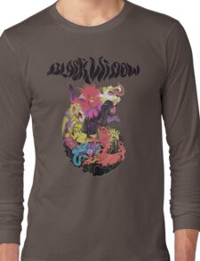 Black Widow Band Shirt Long Sleeve T-Shirt