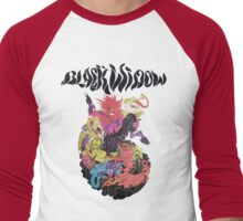 Black Widow Band Shirt Men's Baseball ¾ T-Shirt
