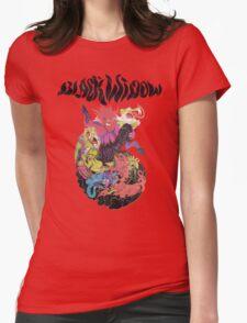 Black Widow Band Shirt Womens Fitted T-Shirt