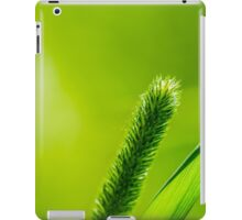 Green Grass And Sun - Have a nice life iPad Case/Skin
