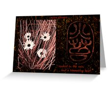 Earth Flowers Greeting Card