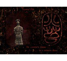 Bronze Warrior Photographic Print