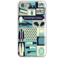 Supernatural Collage Art iPhone Case/Skin