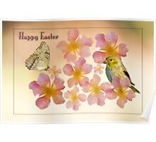 Happy Easter Poster