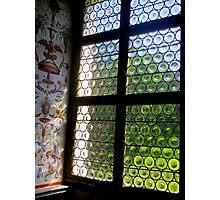 Fresco on the window Photographic Print