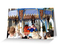 All Eyes on Snow White  Greeting Card