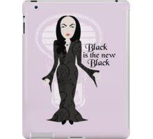 Black is the new Black iPad Case/Skin