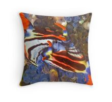 Nembrotha Nudibranch Mating Throw Pillow