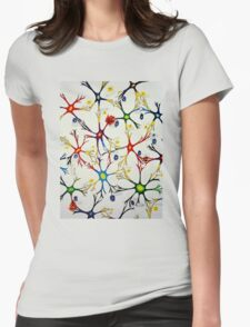 blocked synapses Womens Fitted T-Shirt