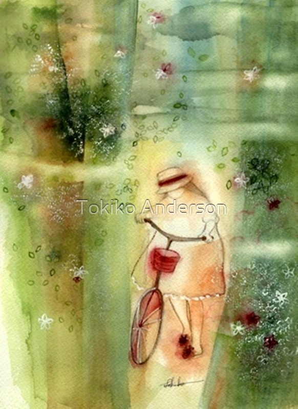 Tokiko Anderson A Day in Summer *original available @ Vango by TokikoAnderson