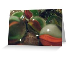 Marble collections Greeting Card