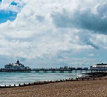 Eastbourne Pier, East Sussex by Mark Bangert