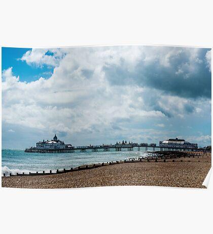 Eastbourne Pier, East Sussex Poster