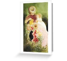 One Sunny Day by Tokiko Anderson Greeting Card