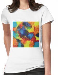"""Audacity"" original abstract artwork Womens Fitted T-Shirt"