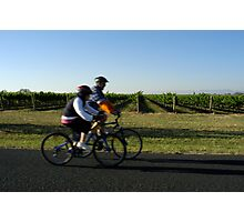 Vineyard Spin Photographic Print