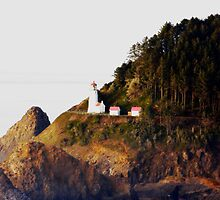 Heceta Head Lighthouse , Oregon #3 by aussiedi