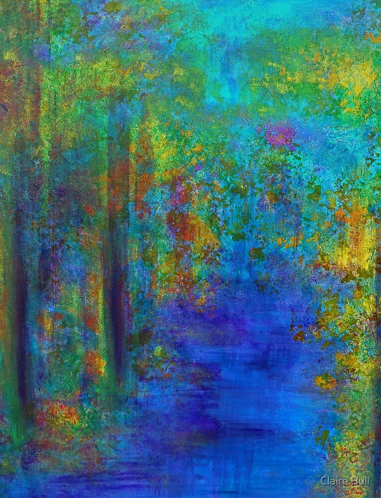 Monet Woods and Water by Claire Bull