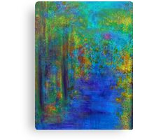 Monet Woods and Water Canvas Print