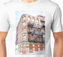 Old Brick Building Unisex T-Shirt