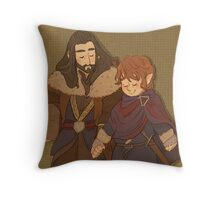 Journey Back Throw Pillow