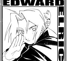 Edward Elric - Black by Bitter-Cherry