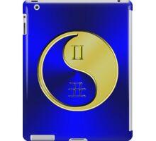 Gemini & Ox Yin Metal iPad Case/Skin