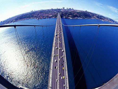 Bosphorus Sky view ( Istanbul - Turkey) by MissSunshine