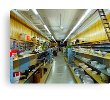 Mc Collum's Hardware Store Canvas Print
