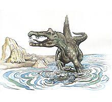 The Spinosaurus Photographic Print