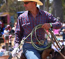 Rodeo Cowboy by fotosports