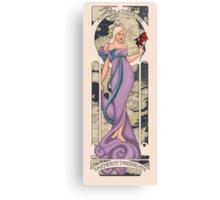 Daenerys Targaryen: A Song of Ice and Nouveau Canvas Print