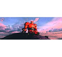 Big Hero 6 Painting Photographic Print