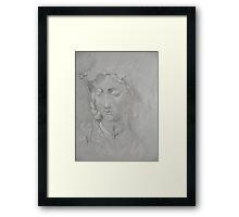 Sleeping Mary Framed Print